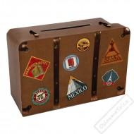 Cestovní kufr na přání a peníze