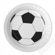Papírové party talíře Fotbal