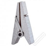Dekorační pyramidový kolíček stříbrný