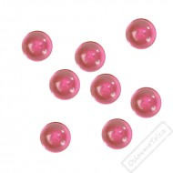 Dekorační krystaly perlové fuchsiové