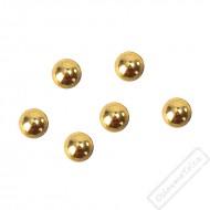Dekorační krystaly perlové zlaté