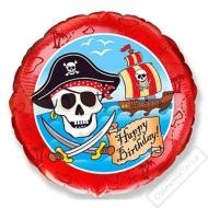Narozeninový balónek fóliový Pirát