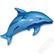 Nafukovací balón fóliový Delfín