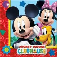Papírové party ubrousky Mickey Mouse
