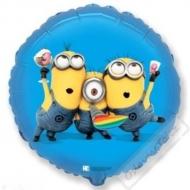 Nafukovací balónek fóliový Mimoni Party