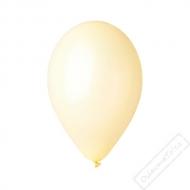 Metalický nafukovací balónek latex šampaň