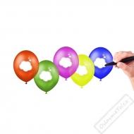 Nafukovací latexové balónky Napiš si svůj text