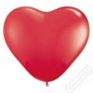 Nafukovací balónek latexový srdce červené
