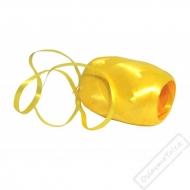 Vázací stuha na dárky žlutá