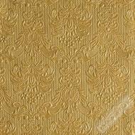 Luxusní papírové ubrousky Elegance zlaté