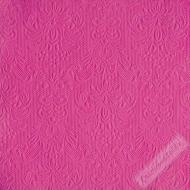 Luxusní papírové ubrousky Elegance fuchsiové