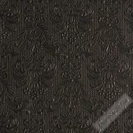 Luxusní papírové ubrousky Elegance černé