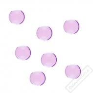 Dekorační krystaly perlové lila