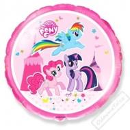 Nafukovací balónek fóliový Můj malý Pony Trio