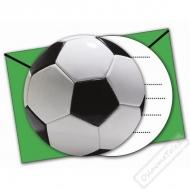 Pozvánky na oslavu Fotbal