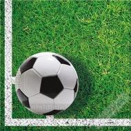 Papírové party ubrousky Fotbalové hřiště