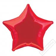 Nafukovací balónek fóliový Hvězda červená