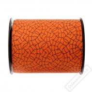 Vázací ozdobná stuha Pavučina oranžová