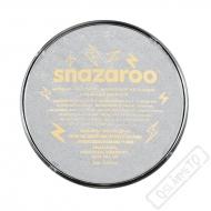 Barva na obličej Snazaroo metalická stříbrná
