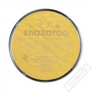 Barva na obličej Snazaroo metalická zlatá