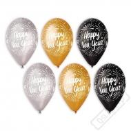 Latexové balónky New Year Elegant