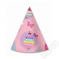 Papírové party kloboučky Sweet