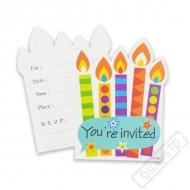 Pozvánky na oslavu Rainbow