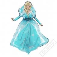 Nafukovací balón fóliový Frozen Elsa