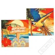 Papírové party ubrousky Hawai
