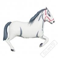 Nafukovací balón fóliový Kůň bílý 80cm