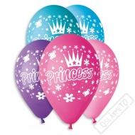 Latexový balónek s potiskem Princess