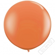 Nafukovací Jumbo balón oranžový 85cm
