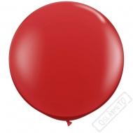 Nafukovací Jumbo balón červený 85cm
