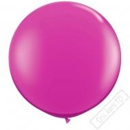 Nafukovací Jumbo balón fuchsiový 85cm