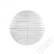 Papírový lampion kulatý bílý 25cm