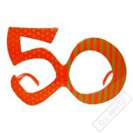 Party brýle Jubileum 50