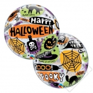 Nafukovací balón bublina Halloween 56cm