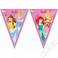 Party girlanda vlajky Princezny