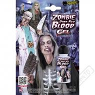 Umělá krev gelová Zombie tmavá