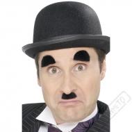 Nalepovací knírek a obočí Chaplin