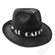 Gangsterský klobouk Al Capone černý
