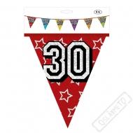 "Narozeninová girlanda vlajky ""30"""