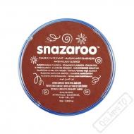 Barva na obličej Snazaroo čokoládová
