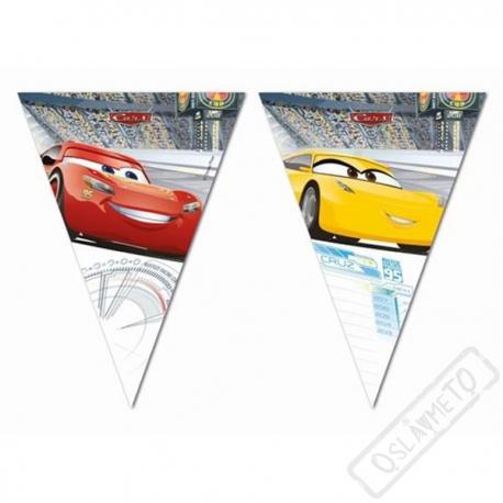 Party girlanda vlajky Cars