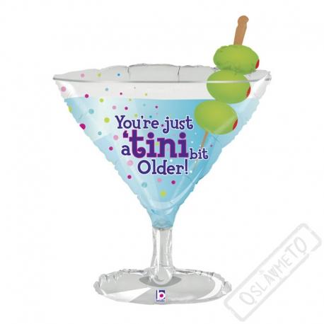 Nafukovací balón fóliový Martini
