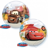 Nafukovací balón bublina Cars 56cm