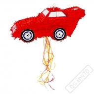 Party Piňata Auto červené