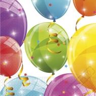 Papírové party ubrousky Balloons