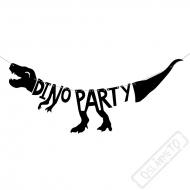 Papírová girlanda Dino Party
