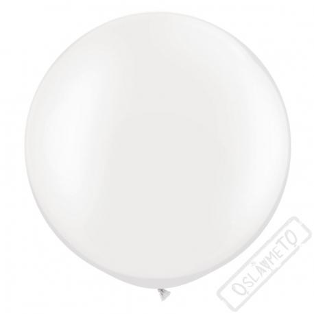 Nafukovací Jumbo balón bílý 85cm